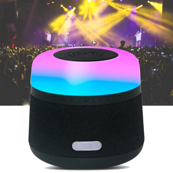 Portable Light LED Wireless Charger Bluetooth Speaker with Microphone Handheld USB_12