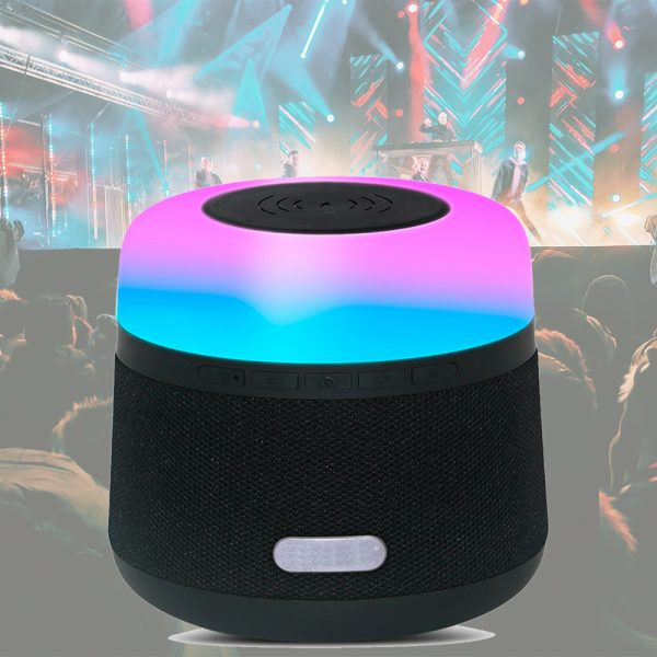 Portable Light LED Wireless Charger Bluetooth Speaker with Microphone Handheld USB_13