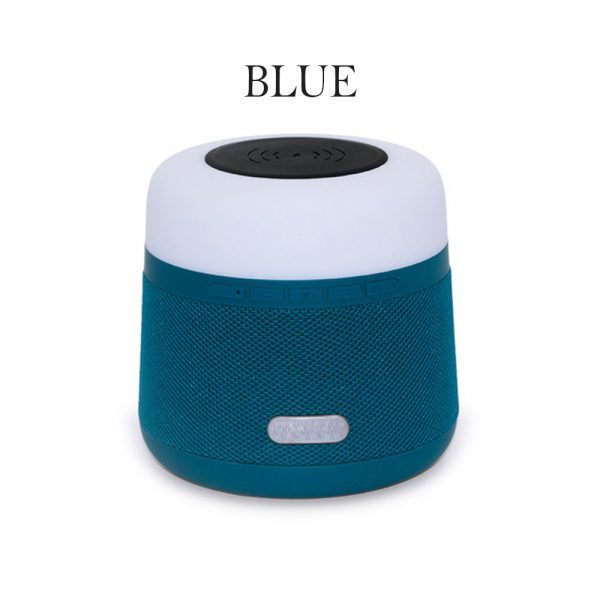 Portable Light LED Wireless Charger Bluetooth Speaker with Microphone Handheld USB_16