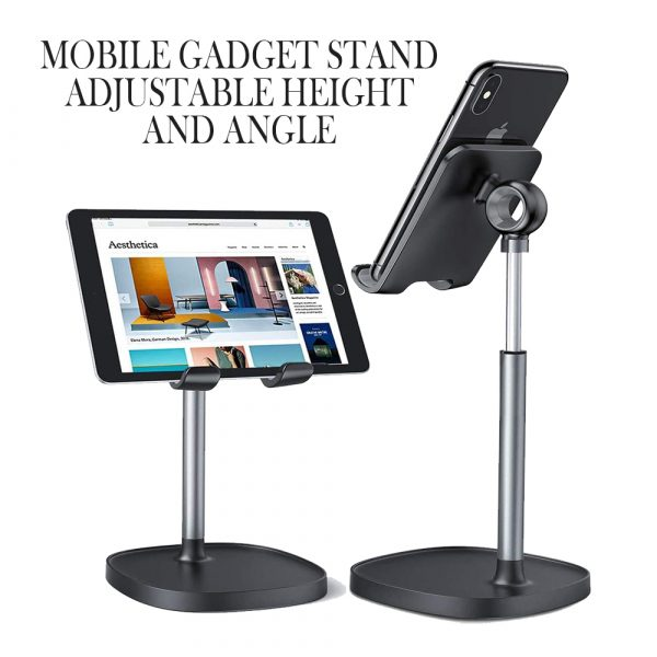 Mobile Gadget Stand Adjustable Height and Angle_9