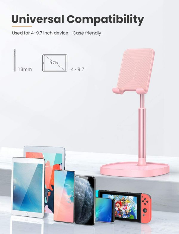 Mobile Gadget Stand Adjustable Height and Angle_1