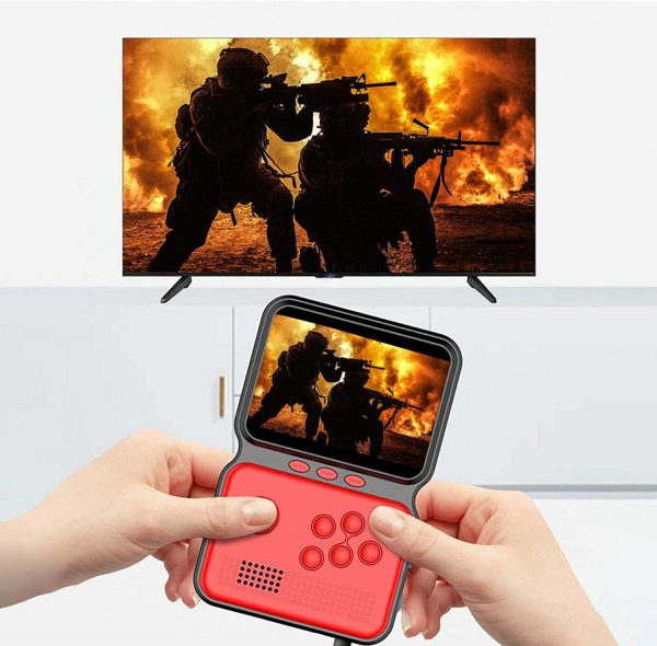 3 Inch Mini Rechargeable Handheld M3 Retro Game Controller, 900+ Classic Games_8