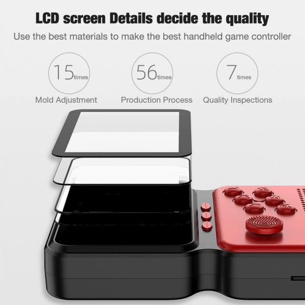 3 Inch Mini Rechargeable Handheld M3 Retro Game Controller, 900+ Classic Games_4