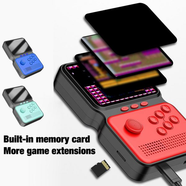 3 Inch Mini Rechargeable Handheld M3 Retro Game Controller, 900+ Classic Games_5