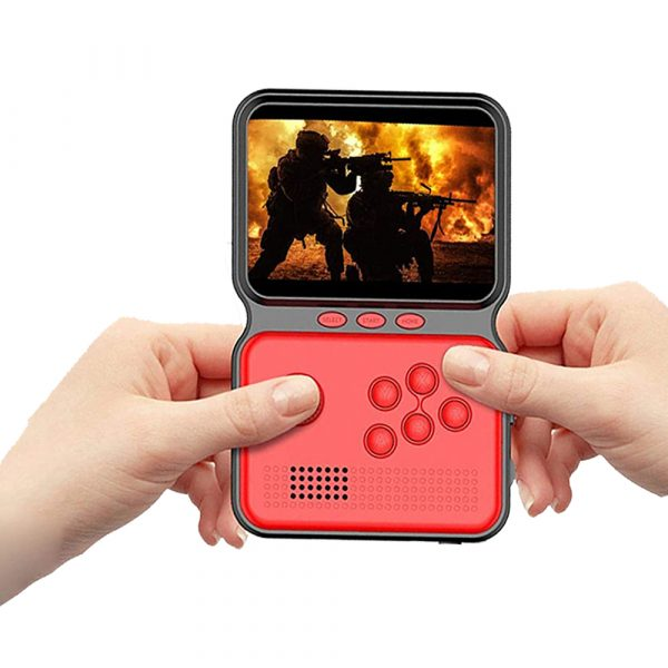 3 Inch Mini Rechargeable Handheld M3 Retro Game Controller, 900+ Classic Games_0