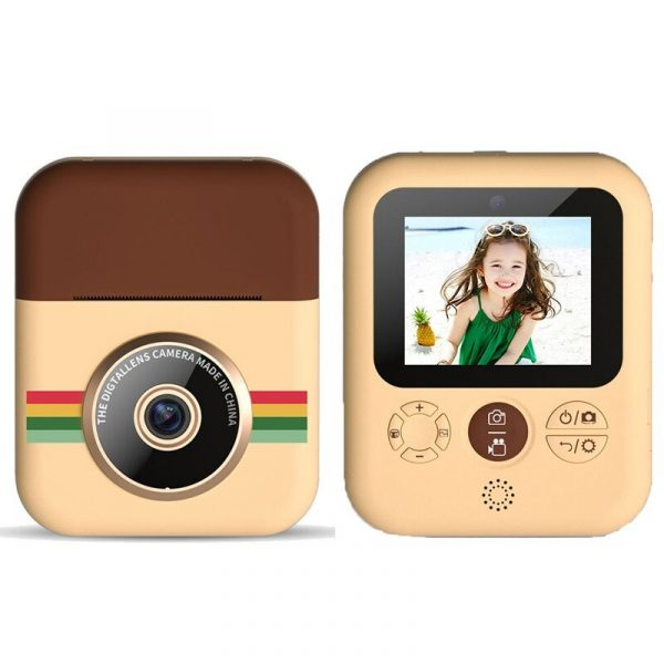 Polaroid Thermal Printing Children's Camera front and rear 12 million dual cameras with 2.4 inch IPS HD screen_0