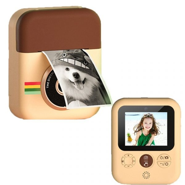 Polaroid Thermal Printing Children's Camera front and rear 12 million dual cameras with 2.4 inch IPS HD screen_1