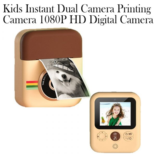 Polaroid Thermal Printing Children's Camera front and rear 12 million dual cameras with 2.4 inch IPS HD screen_8