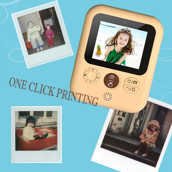 Polaroid Thermal Printing Children's Camera front and rear 12 million dual cameras with 2.4 inch IPS HD screen_9