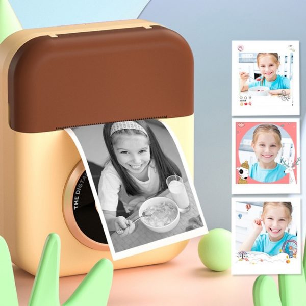 Polaroid Thermal Printing Children's Camera front and rear 12 million dual cameras with 2.4 inch IPS HD screen_10