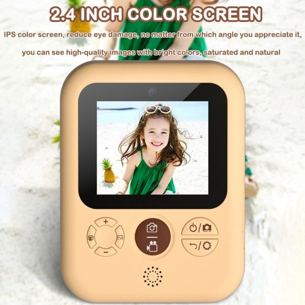 Polaroid Thermal Printing Children's Camera front and rear 12 million dual cameras with 2.4 inch IPS HD screen_11