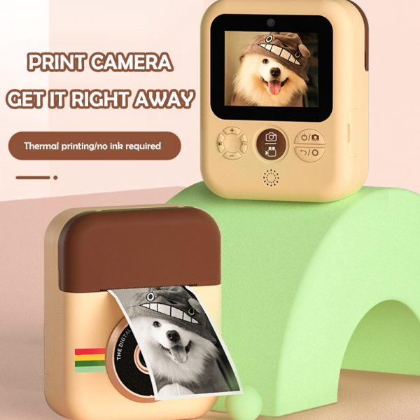 Polaroid Thermal Printing Children's Camera front and rear 12 million dual cameras with 2.4 inch IPS HD screen_5