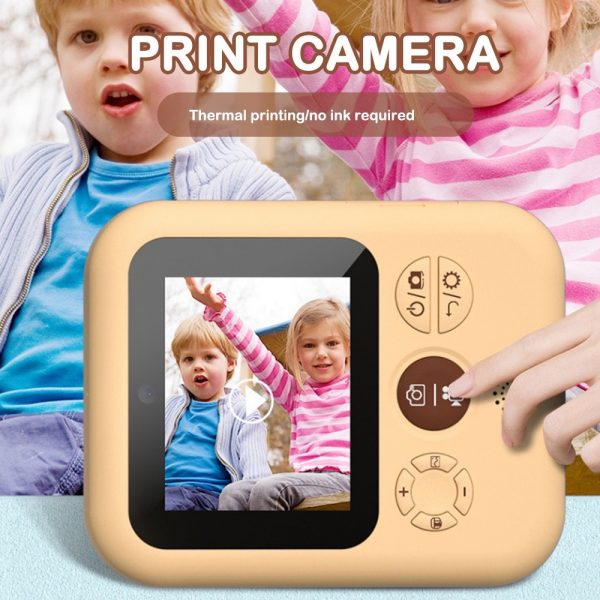 Polaroid Thermal Printing Children's Camera front and rear 12 million dual cameras with 2.4 inch IPS HD screen_6