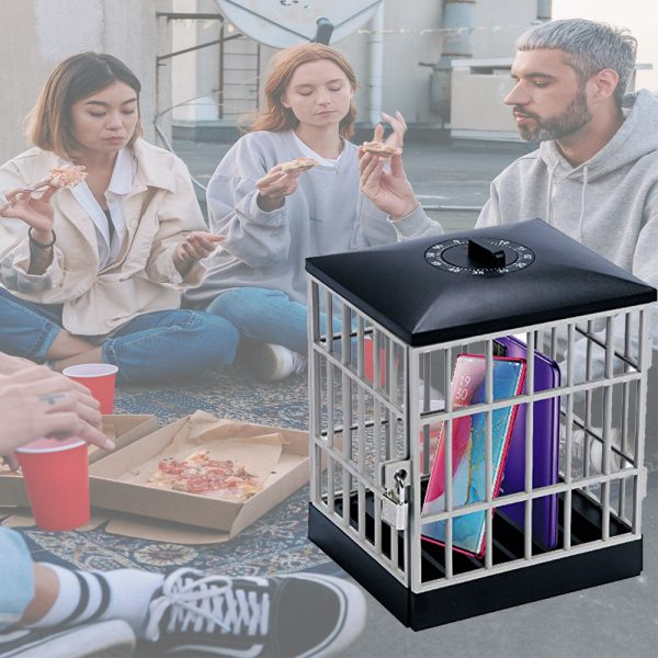 Mobile Phone Jail Cell Lock-up with Built-in Timer_3