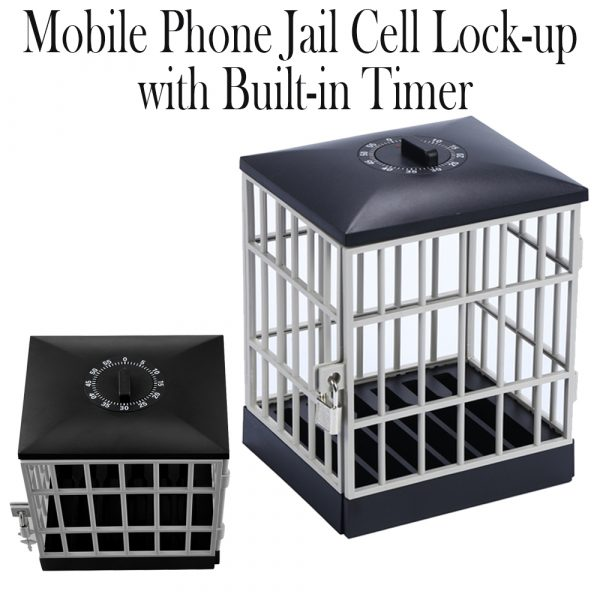 Mobile Phone Jail Cell Lock-up with Built-in Timer_5