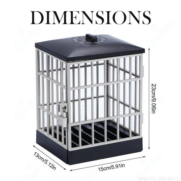 Mobile Phone Jail Cell Lock-up with Built-in Timer_6