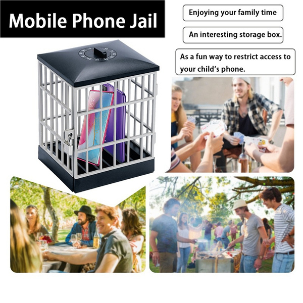 Mobile Phone Jail Cell Lock-up with Built-in Timer_7