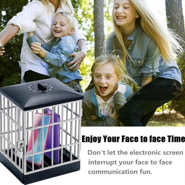 Mobile Phone Jail Cell Lock-up with Built-in Timer_8