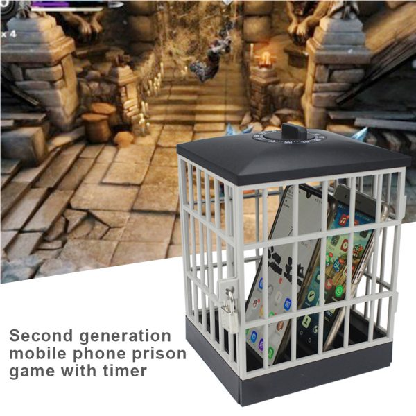 Mobile Phone Jail Cell Lock-up with Built-in Timer_2