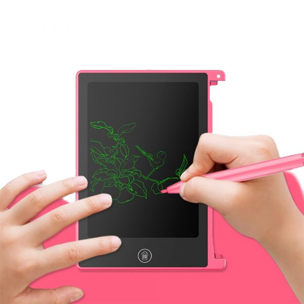 LCD Writing Tablet 4.5 inch Digital Electronic Handwriting and Drawing Board_0