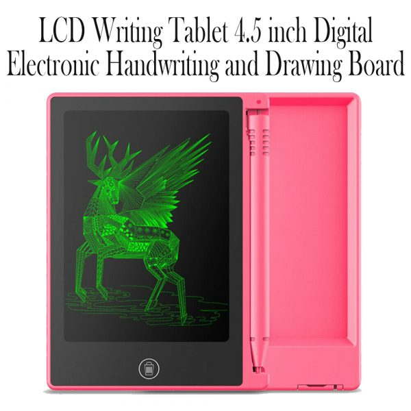 LCD Writing Tablet 4.5 inch Digital Electronic Handwriting and Drawing Board_11
