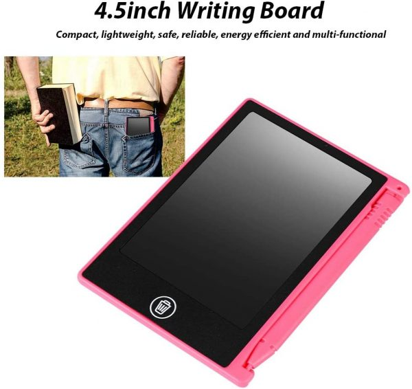 LCD Writing Tablet 4.5 inch Digital Electronic Handwriting and Drawing Board_16