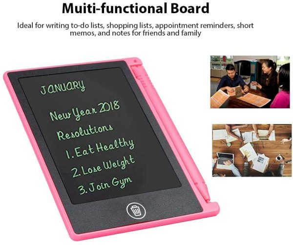 LCD Writing Tablet 4.5 inch Digital Electronic Handwriting and Drawing Board_5