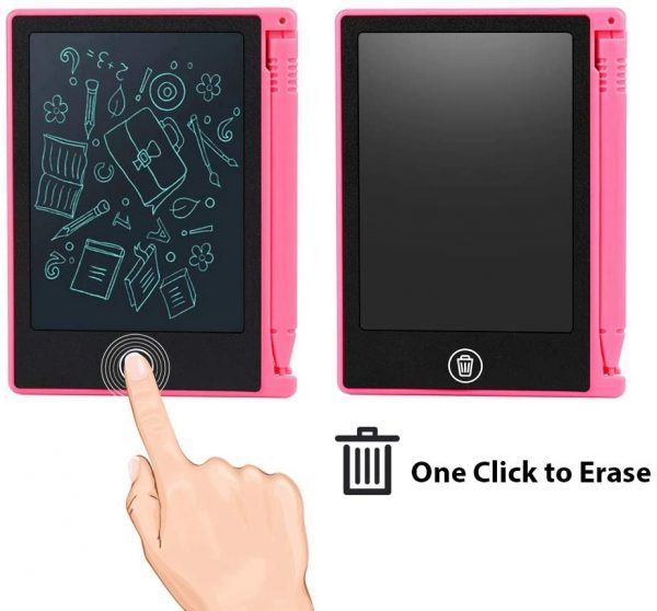 LCD Writing Tablet 4.5 inch Digital Electronic Handwriting and Drawing Board_6