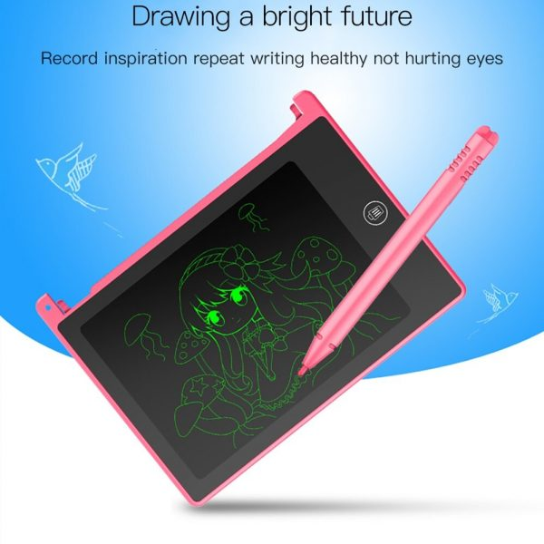 LCD Writing Tablet 4.5 inch Digital Electronic Handwriting and Drawing Board_9