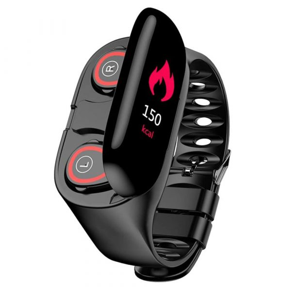 2-in-1 M1 Bluetooth Headset and Fitness Tracker Smart Bracelet_0