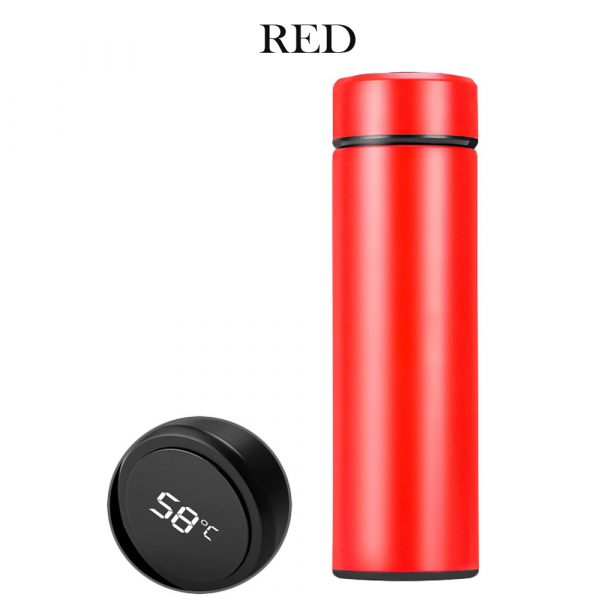 500ML Stainless Steel Insulated Hot and Cold Smart Water Bottle, with Temperature LCD Display_2