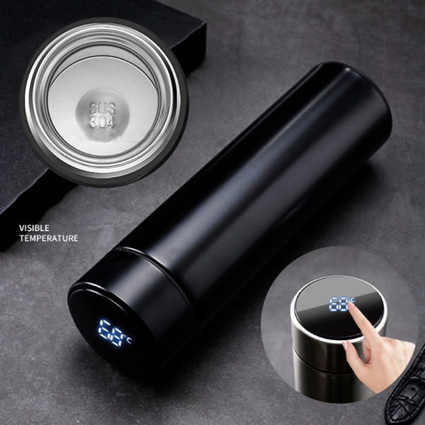 500ML Stainless Steel Insulated Hot and Cold Smart Water Bottle, with Temperature LCD Display_7