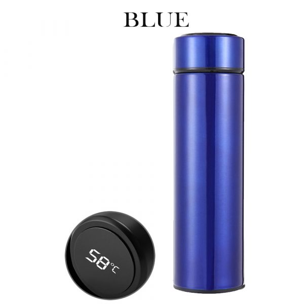 500ML Stainless Steel Insulated Hot and Cold Smart Water Bottle, with Temperature LCD Display_4