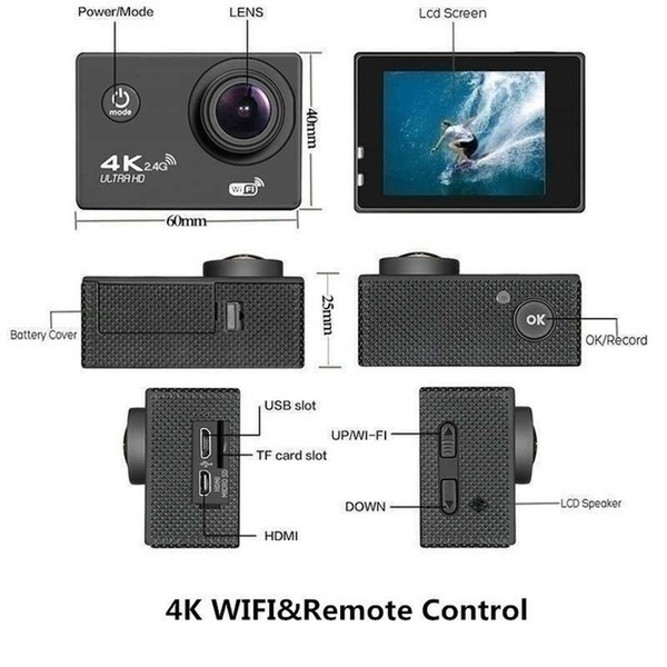 16MP 4K Ultra HD Water Proof Action Camera with Wi-Fi_8