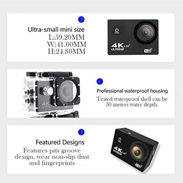 16MP 4K Ultra HD Water Proof Action Camera with Wi-Fi_14