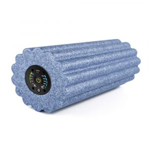 Yoga Foam Roller Electric Vibration Rechargeable Adjustable Massager Yoga Fitness Pain Therapy Fitness Shaping