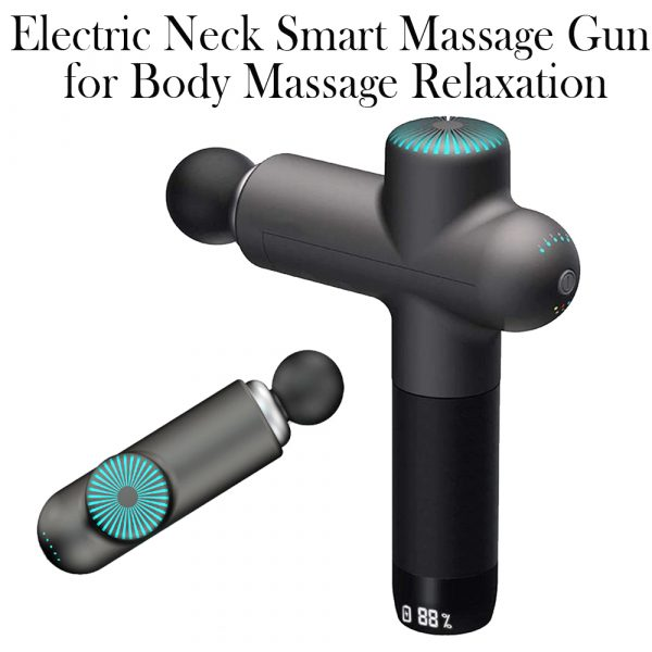 Electric Neck Smart Fascia Massage Gun for Body Massage Relaxation Fitness Muscle Pain Relief_2
