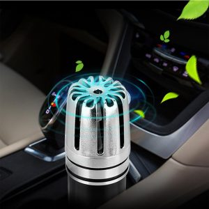 12V Plug-in Mini Car Air Purifier Ionizer Air Freshener Odor Eliminator