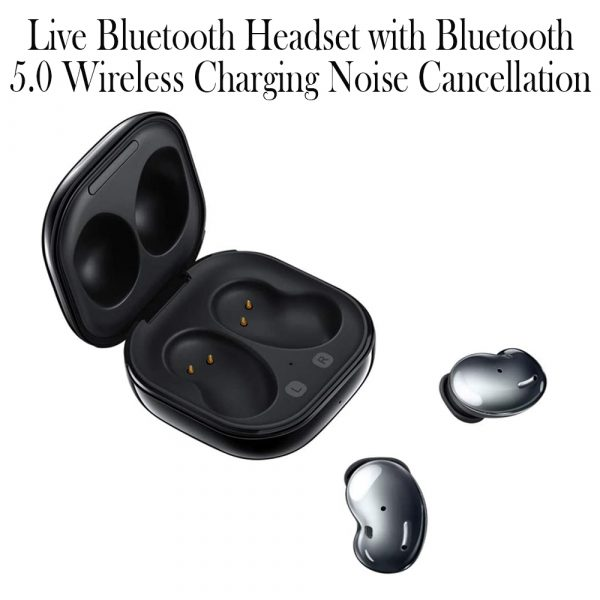 Live Bluetooth Headset with Bluetooth 5.0 Wireless Charging Noise Cancellation_8