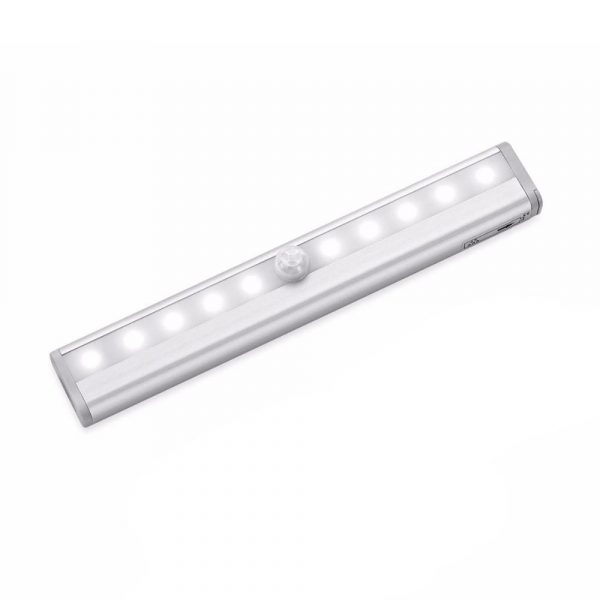 Smart Motion Sensor LED Night Light 6/10 LED Human Body Induction Detector for Home Bed Kitchen Cabinet Wardrobe Wall Lamp_11