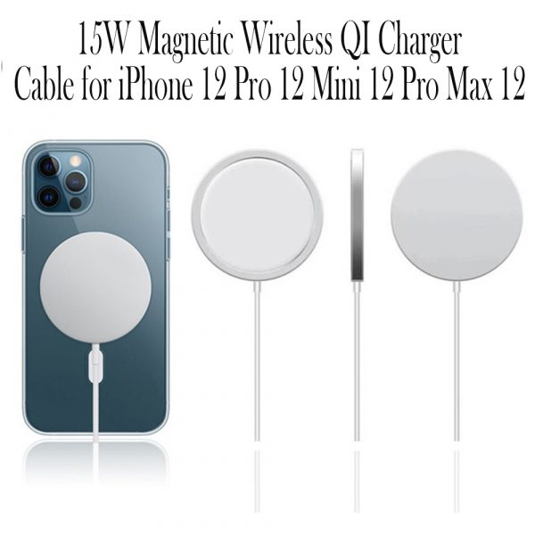 15W Magnetic Wireless QI Charger Cable for iPhone 12 Pro12 Mini 12 Pro Max 12_7