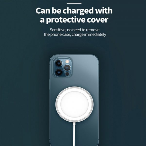 15W Magnetic Wireless QI Charger Cable for iPhone 12 Pro12 Mini 12 Pro Max 12_10