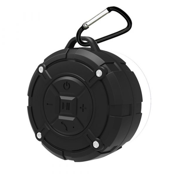 Waterproof Bluetooth Speaker with HD Sound, 6H Playtime Portable Speaker with Suction Cup, Built-in Microphone_16
