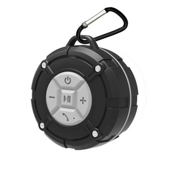 Waterproof Bluetooth Speaker with HD Sound, 6H Playtime Portable Speaker with Suction Cup, Built-in Microphone_18