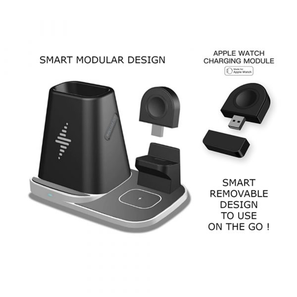 4-in-1 Universal Vertical Wireless QI Charging Station and Storage Box for APPLE QI Devices_7