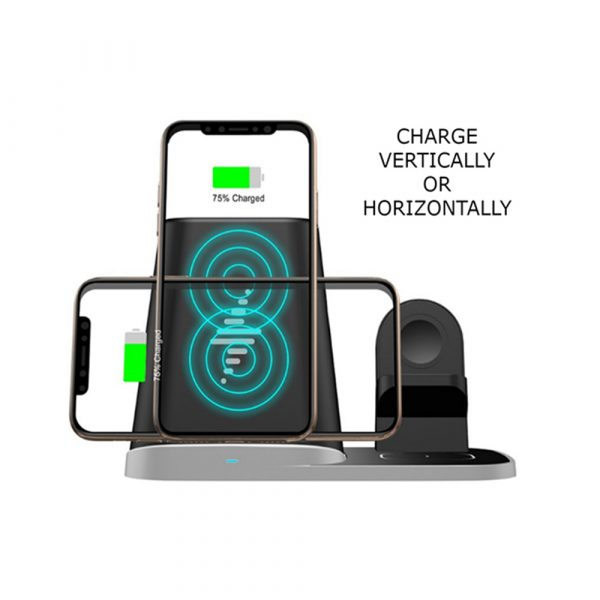 4-in-1 Universal Vertical Wireless QI Charging Station and Storage Box for APPLE QI Devices_8