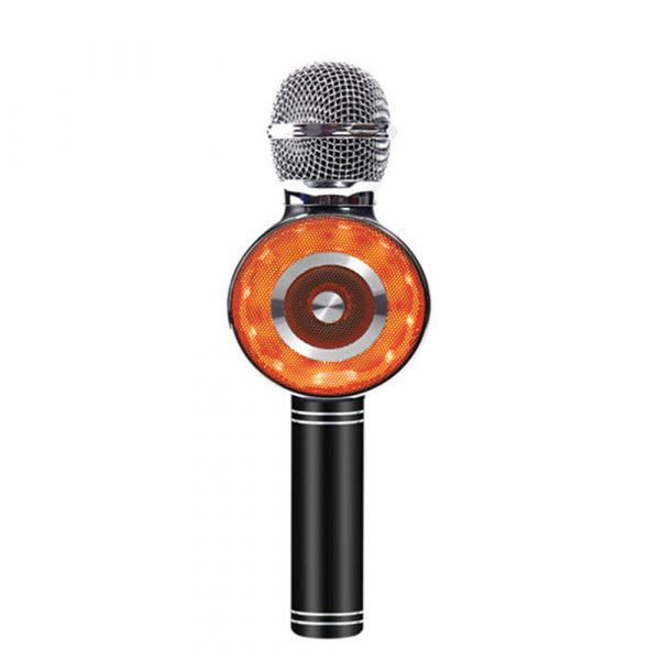 High Configuration Wireless Bluetooth Microphone with Large Speaker and LED Lights_2