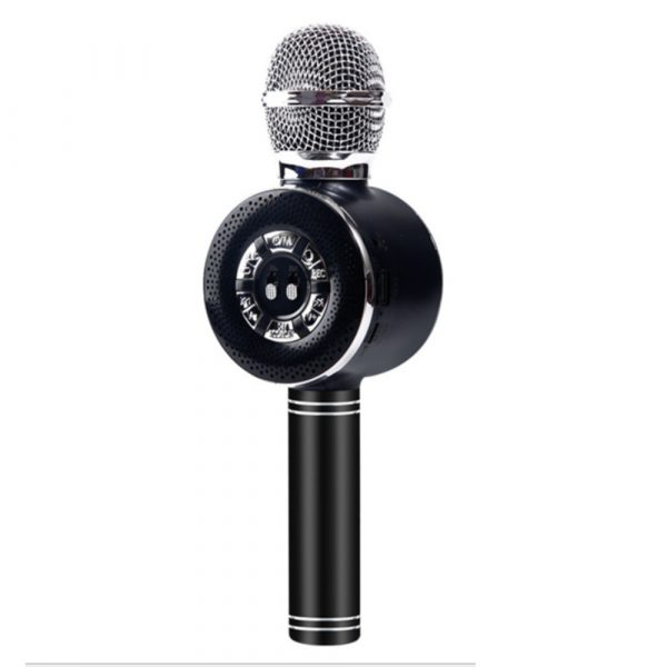 High Configuration Wireless Bluetooth Microphone with Large Speaker and LED Lights_10