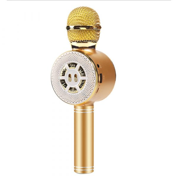 High Configuration Wireless Bluetooth Microphone with Large Speaker and LED Lights_11