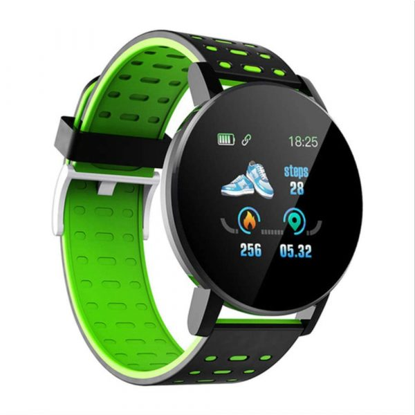 Bluetooth Smartwatch Blood Pressure Monitor Unisex Watch and Fitness Tracker for Android iOS_16